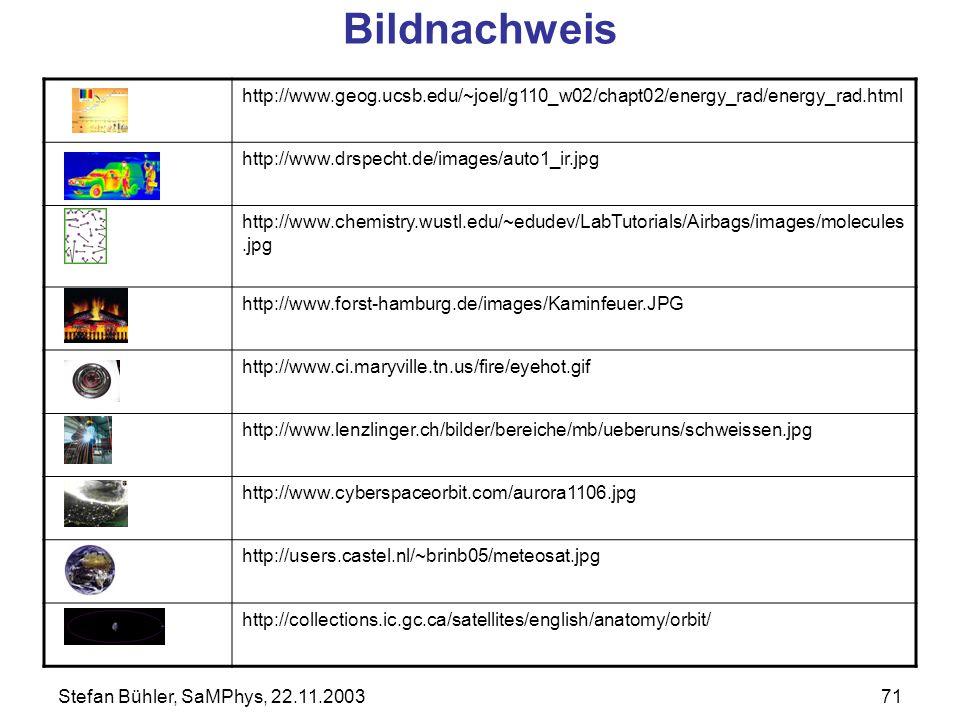 Bildnachweis http://www.geog.ucsb.edu/~joel/g110_w02/chapt02/energy_rad/energy_rad.html. http://www.drspecht.de/images/auto1_ir.jpg.