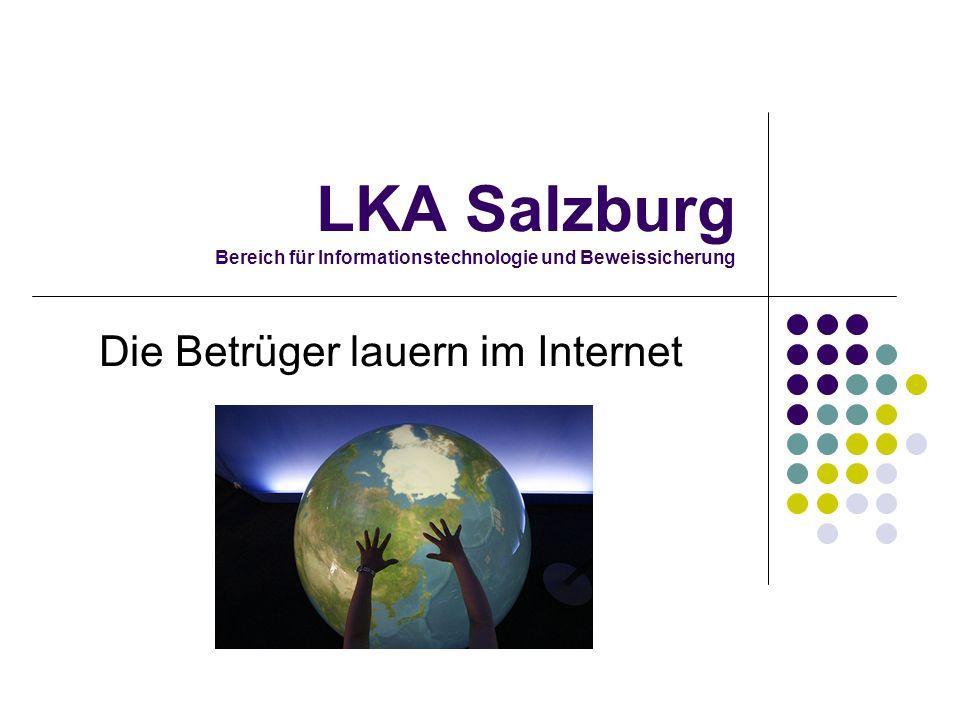 LKA Salzburg Bereich für Informationstechnologie und Beweissicherung