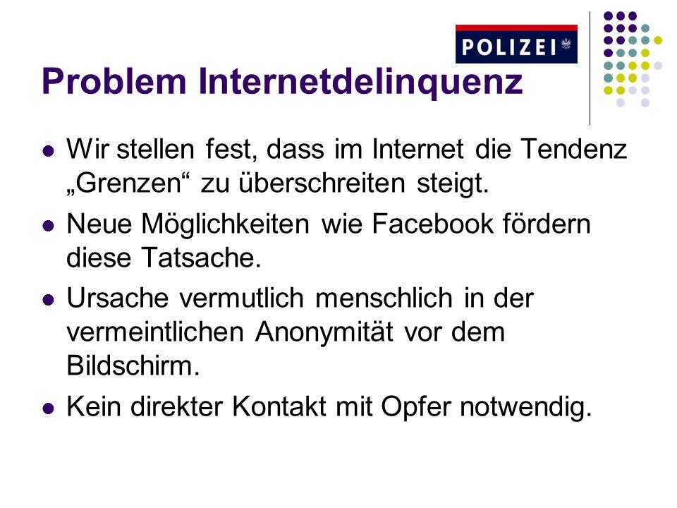 Problem Internetdelinquenz