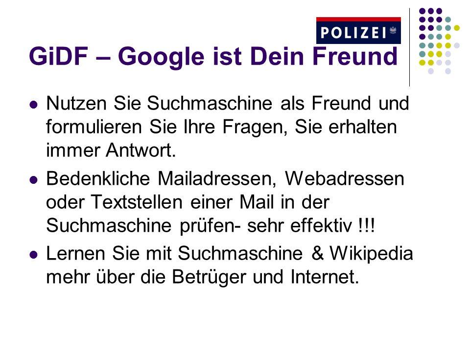 GiDF – Google ist Dein Freund