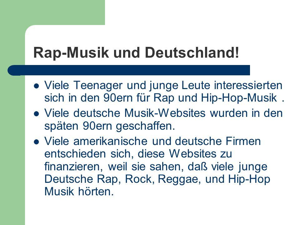 Rap-Musik und Deutschland!