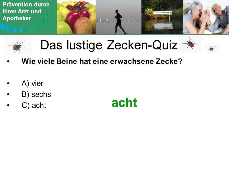 Das lustige Zecken-Quiz