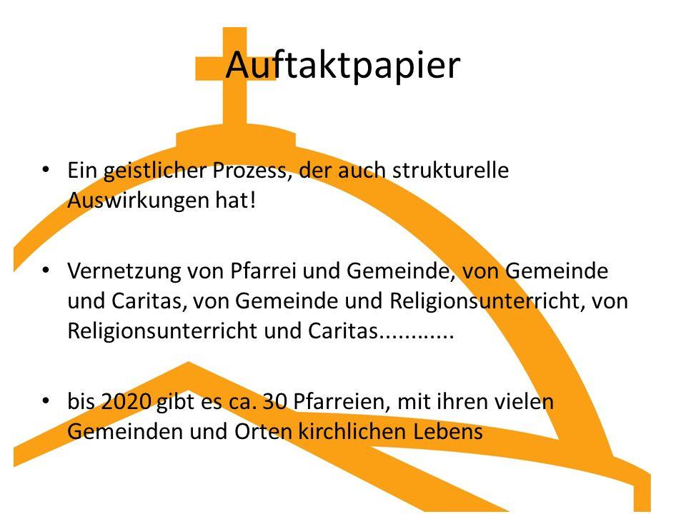 Auftaktpapier Ein geistlicher Prozess, der auch strukturelle Auswirkungen hat!