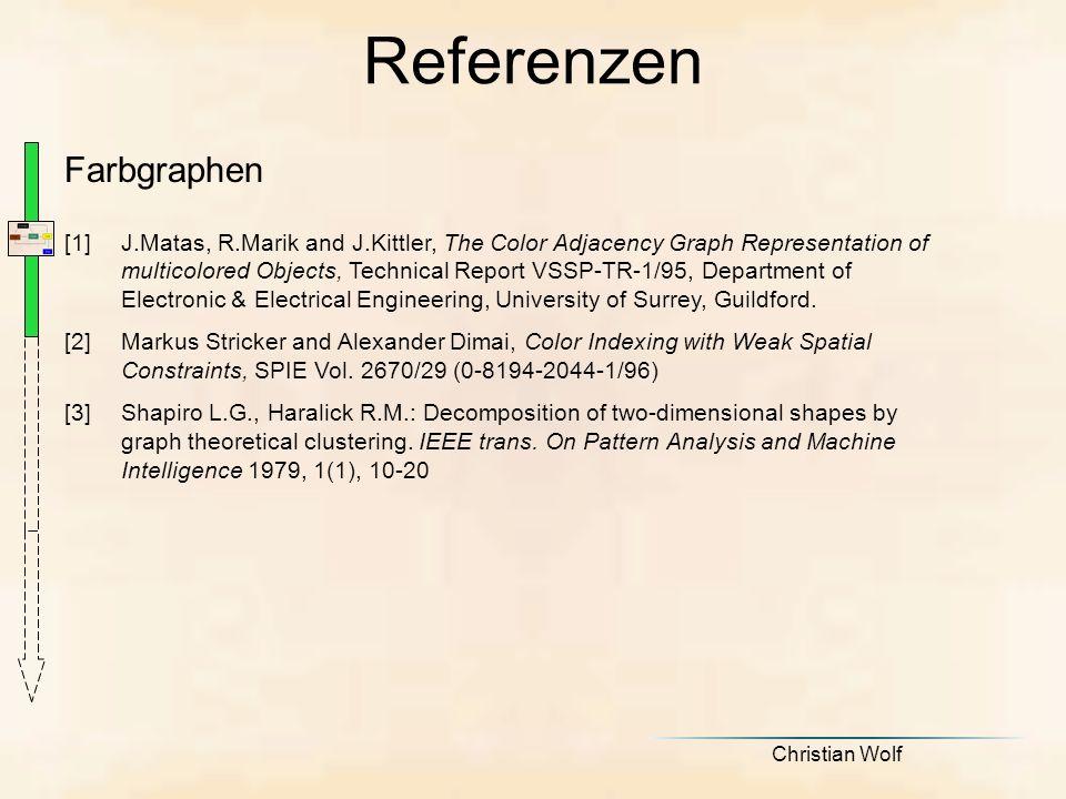 Referenzen Farbgraphen