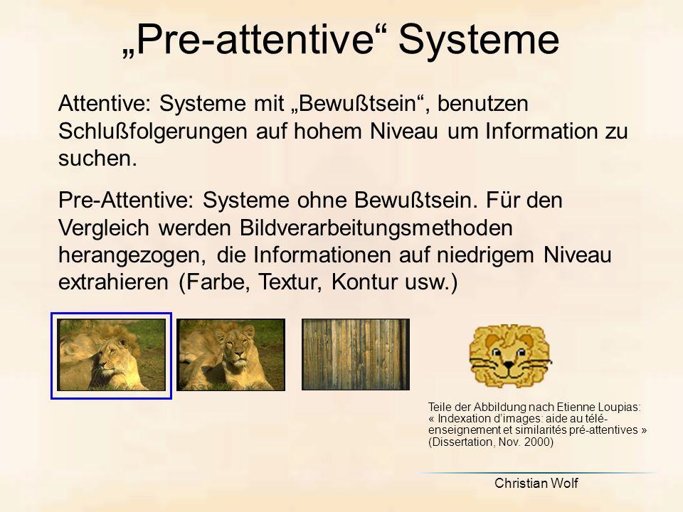 """""""Pre-attentive Systeme"""