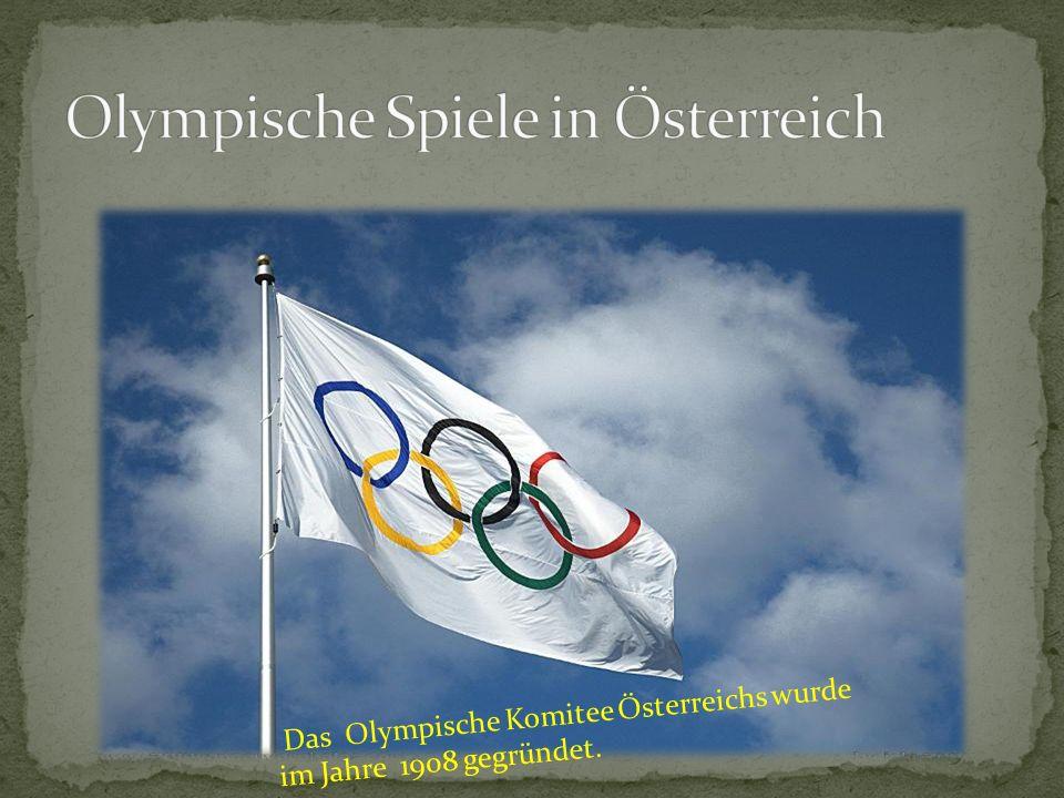 Olympische Spiele in Österreich