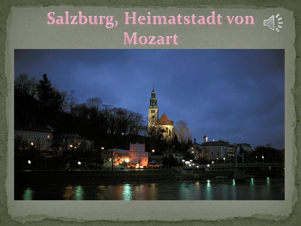 Salzburg, Heimatstadt von Mozart
