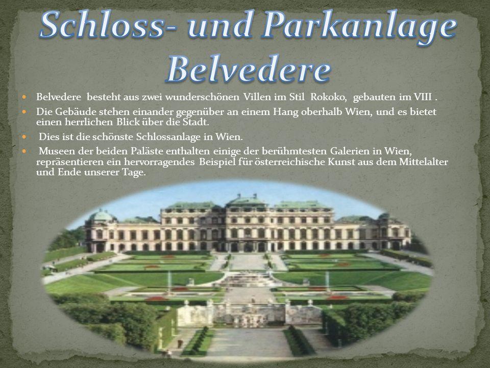 Schloss- und Parkanlage Belvedere