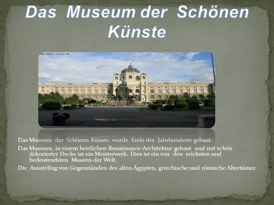 Das Museum der Schönen Künste