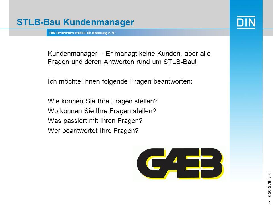 STLB-Bau Kundenmanager