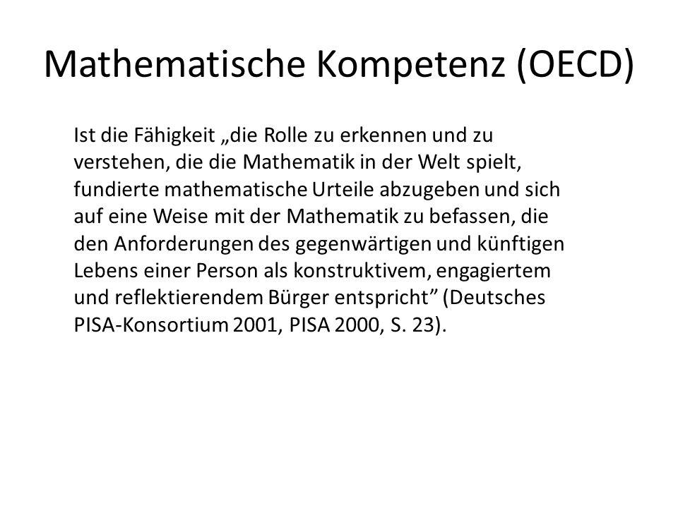 Mathematische Kompetenz (OECD)