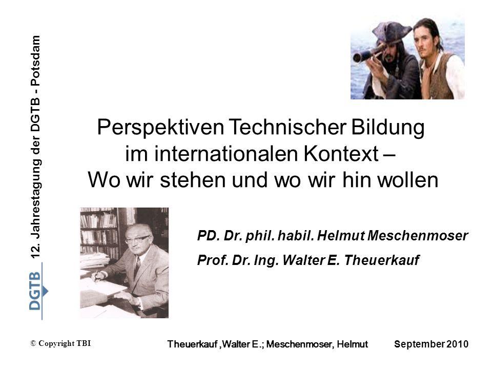 Perspektiven Technischer Bildung im internationalen Kontext –