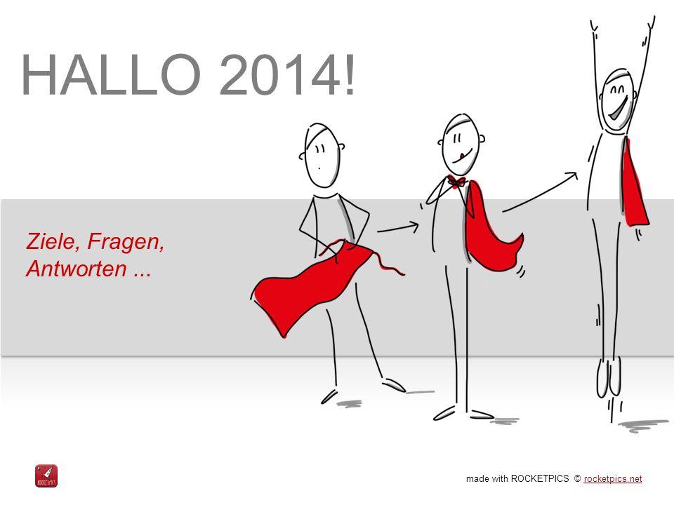 HALLO 2014! Ziele, Fragen, Antworten ...