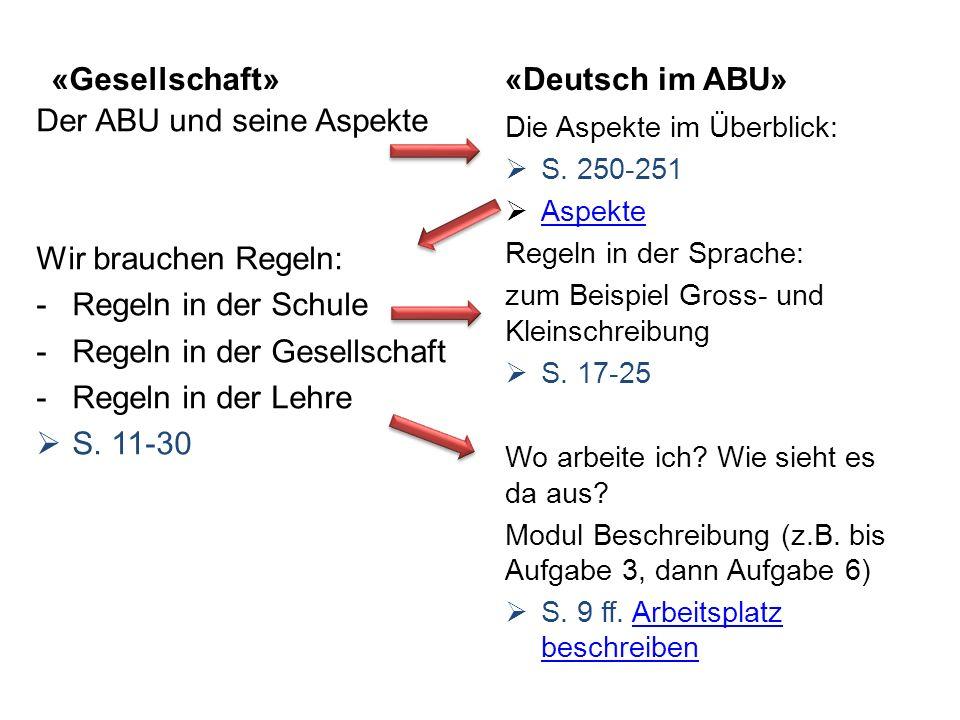 Der ABU und seine Aspekte