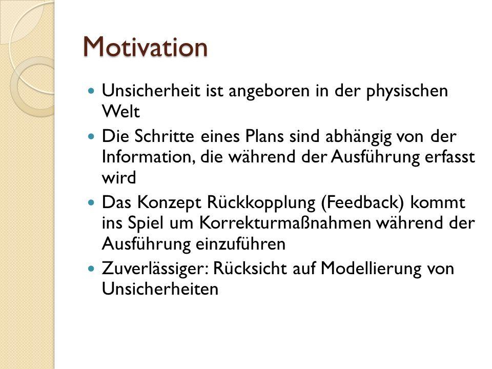 Motivation Unsicherheit ist angeboren in der physischen Welt