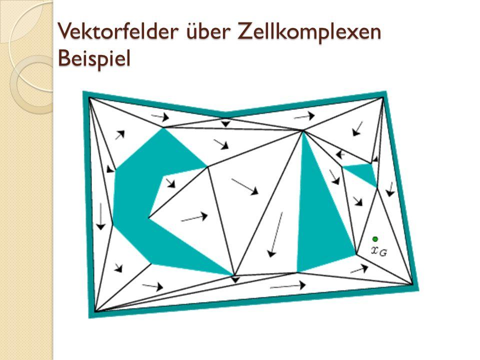Vektorfelder über Zellkomplexen Beispiel