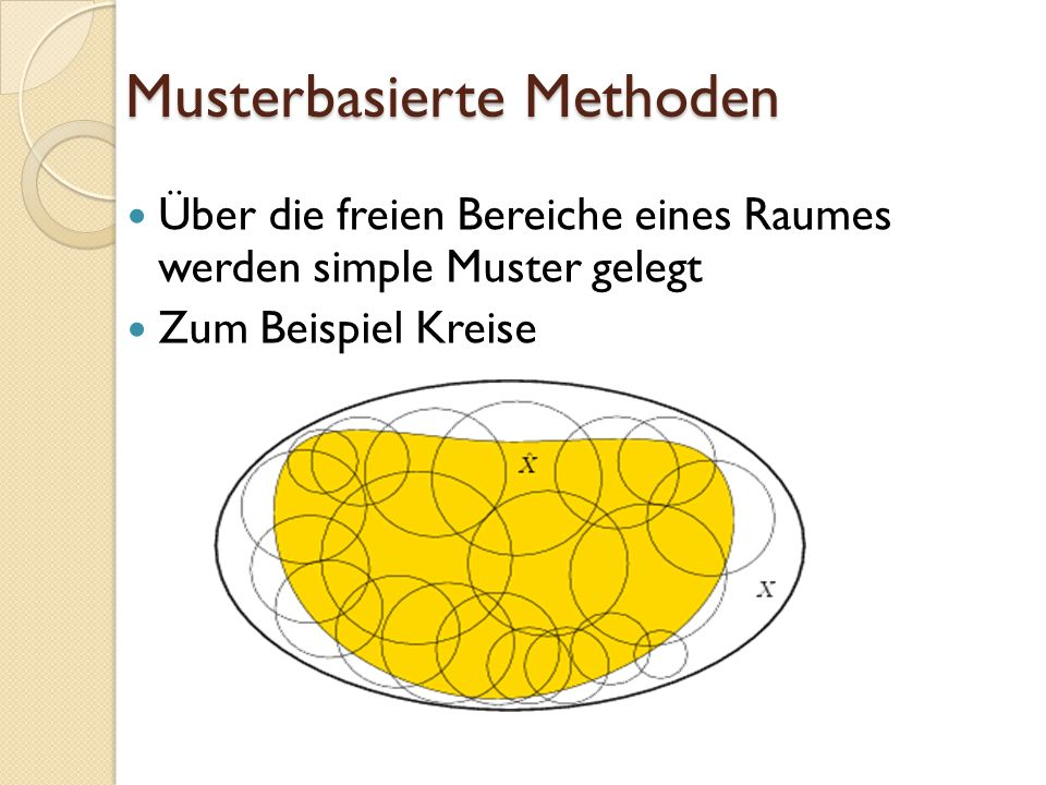 Musterbasierte Methoden