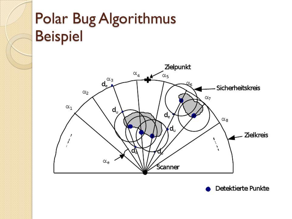 Polar Bug Algorithmus Beispiel