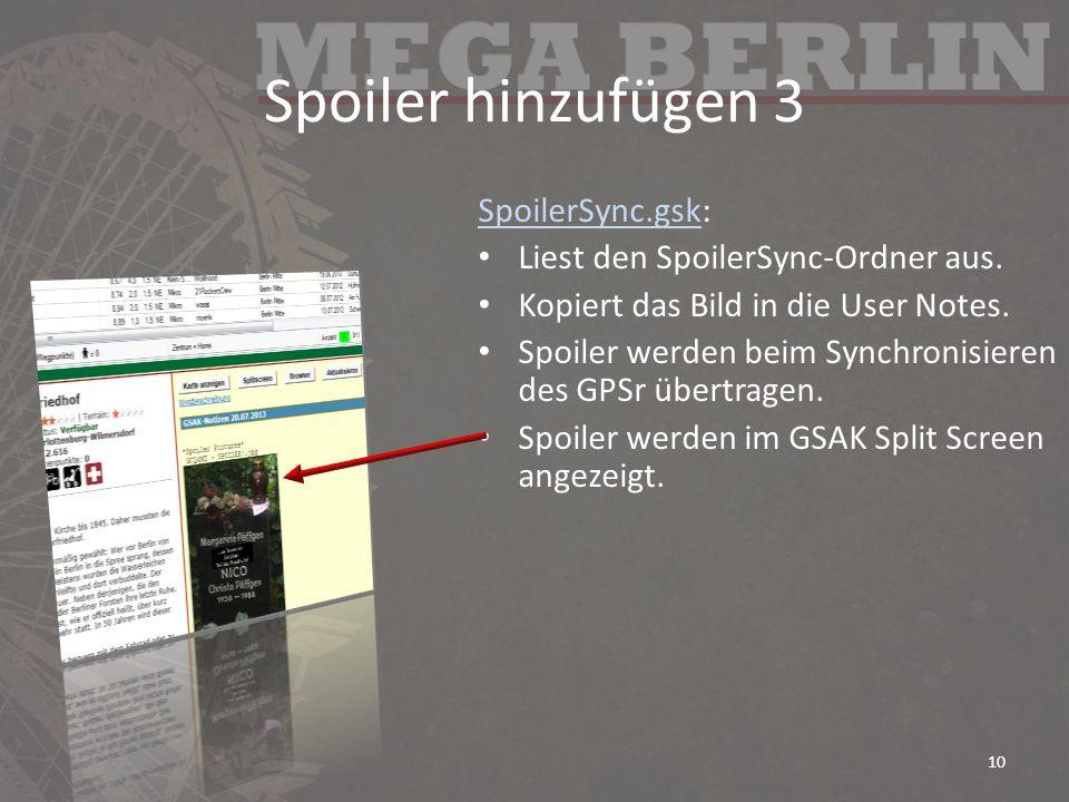 Spoiler hinzufügen 3 SpoilerSync.gsk: