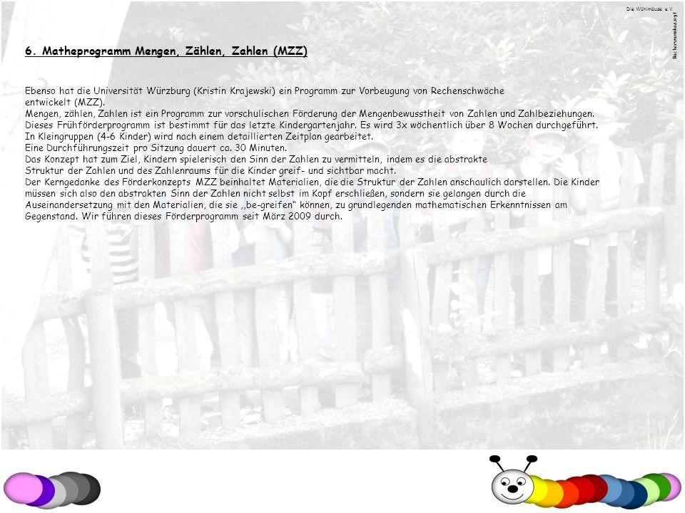 6. Matheprogramm Mengen, Zählen, Zahlen (MZZ)