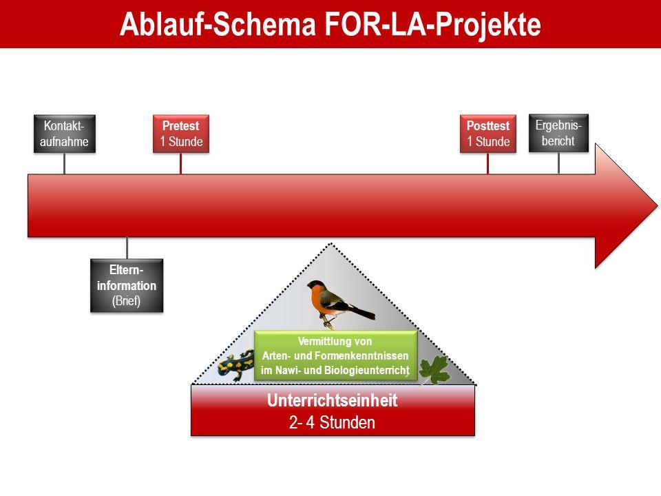 Ablauf-Schema FOR-LA-Projekte
