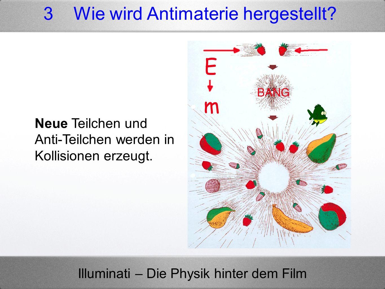 3 Wie wird Antimaterie hergestellt