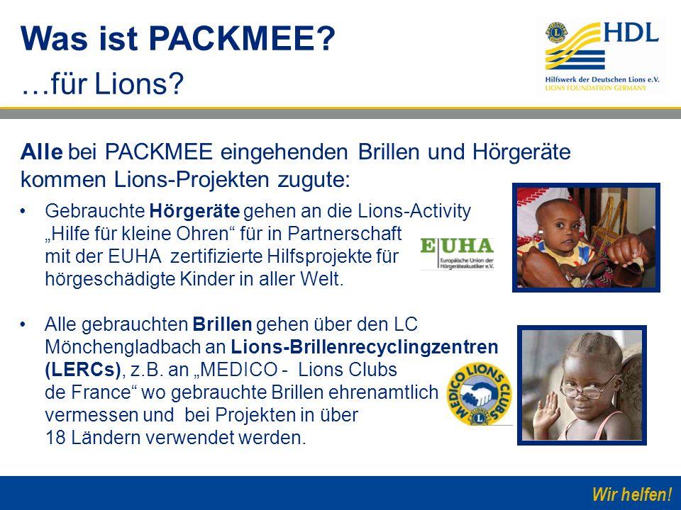 Was ist PACKMEE …für Lions