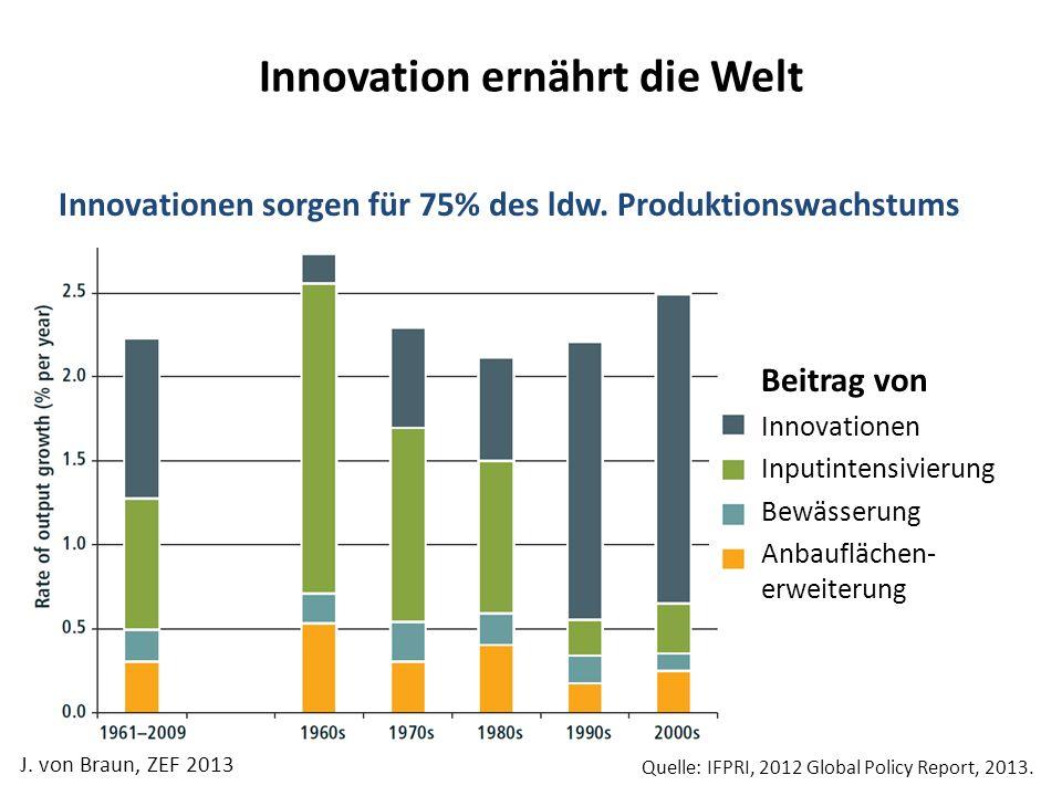 Innovation ernährt die Welt