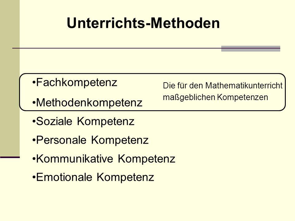 Unterrichts-Methoden