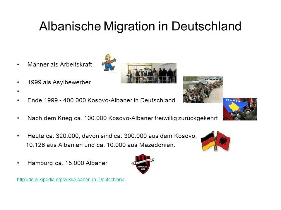 Albanische Migration in Deutschland