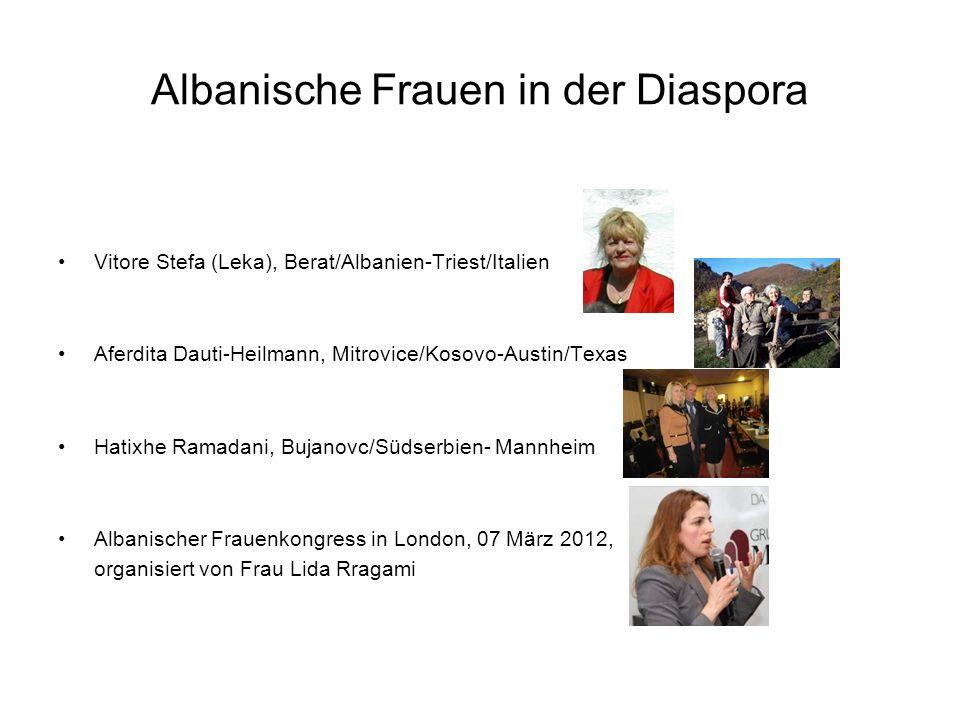 Albanische Frauen in der Diaspora