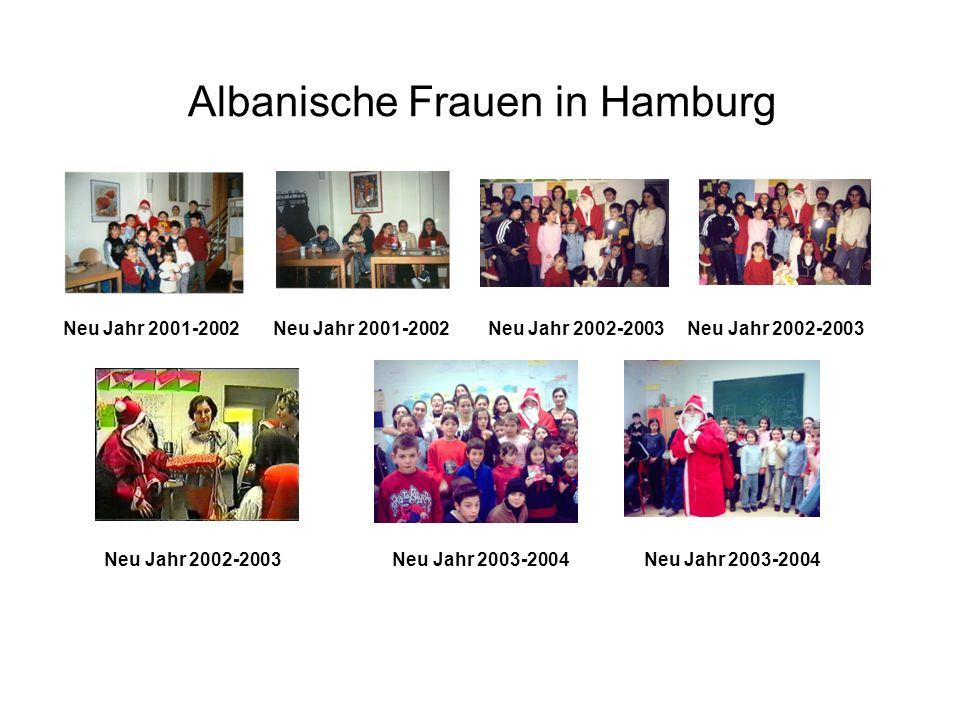 Albanische Frauen in Hamburg