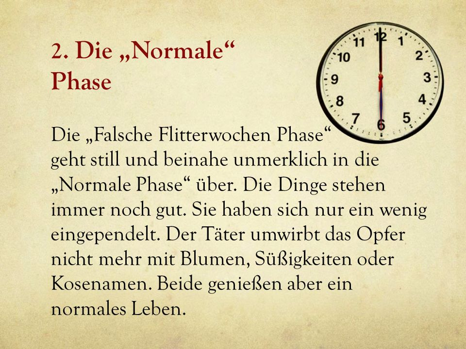 "2. Die ""Normale Phase"