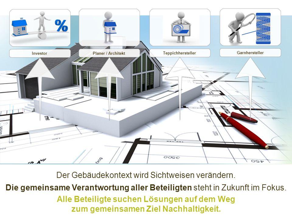 Der Gebäudekontext wird Sichtweisen verändern.