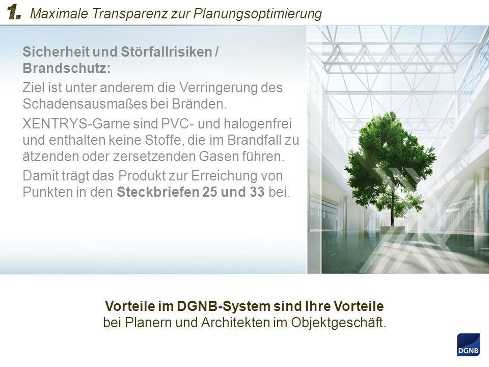 Maximale Transparenz zur Planungsoptimierung