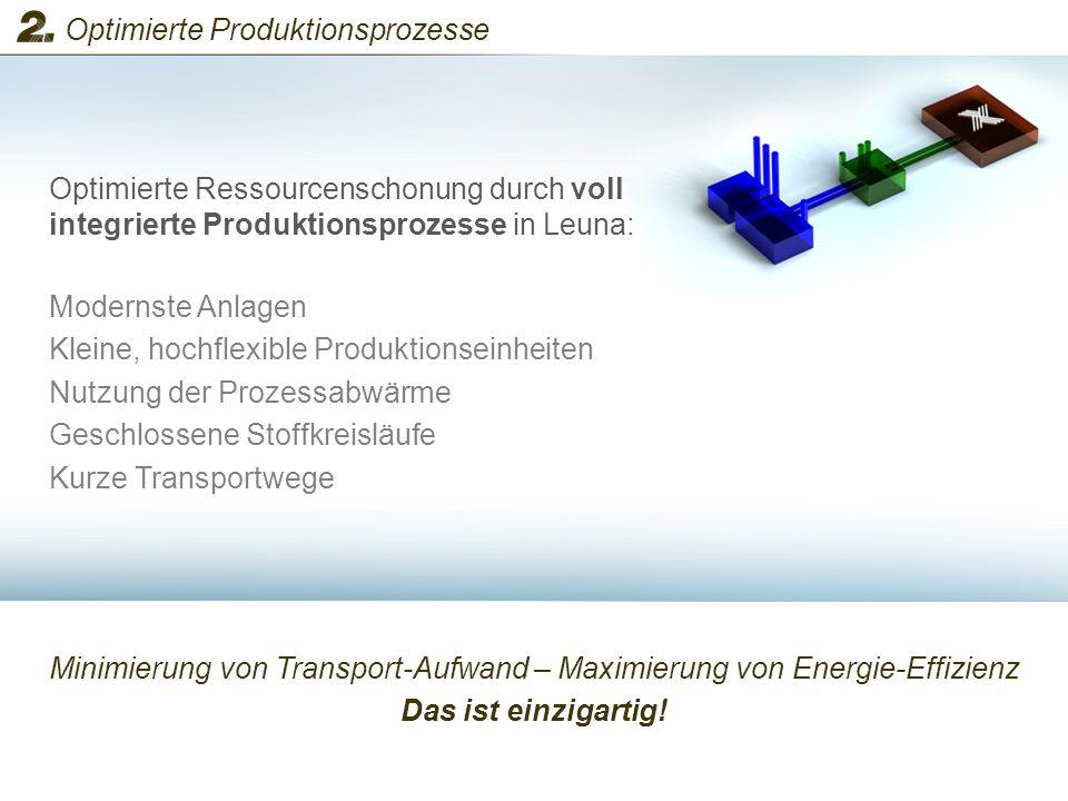 Minimierung von Transport-Aufwand – Maximierung von Energie-Effizienz