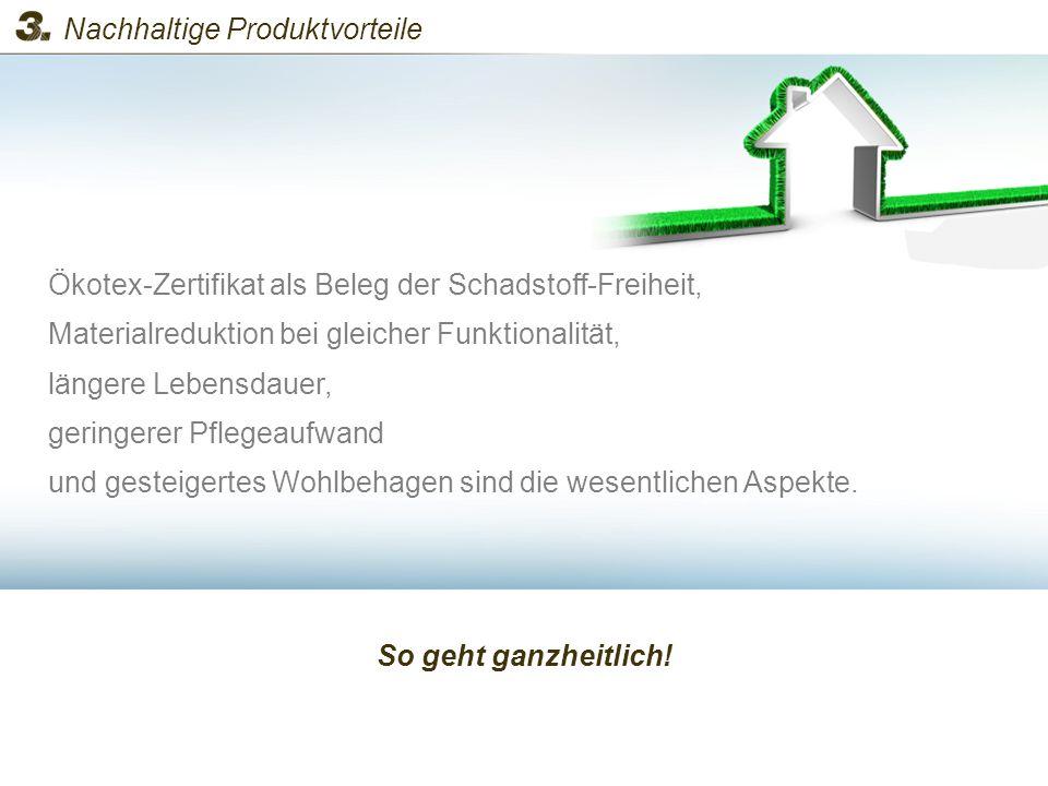 Nachhaltige Produktvorteile