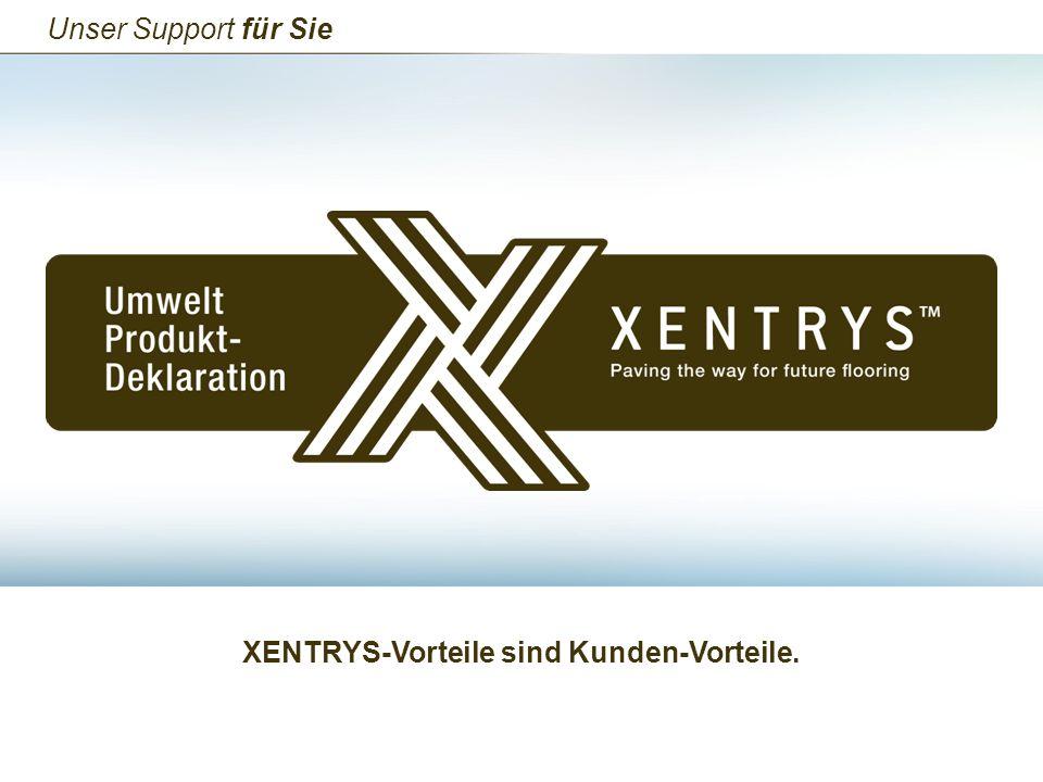 XENTRYS-Vorteile sind Kunden-Vorteile.