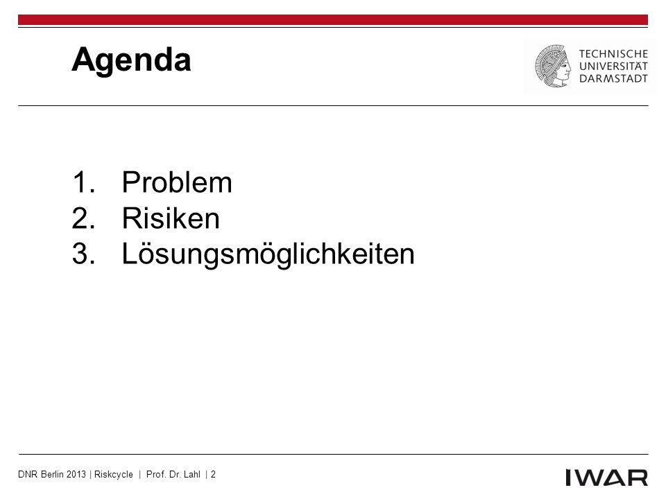 Agenda Problem Risiken Lösungsmöglichkeiten