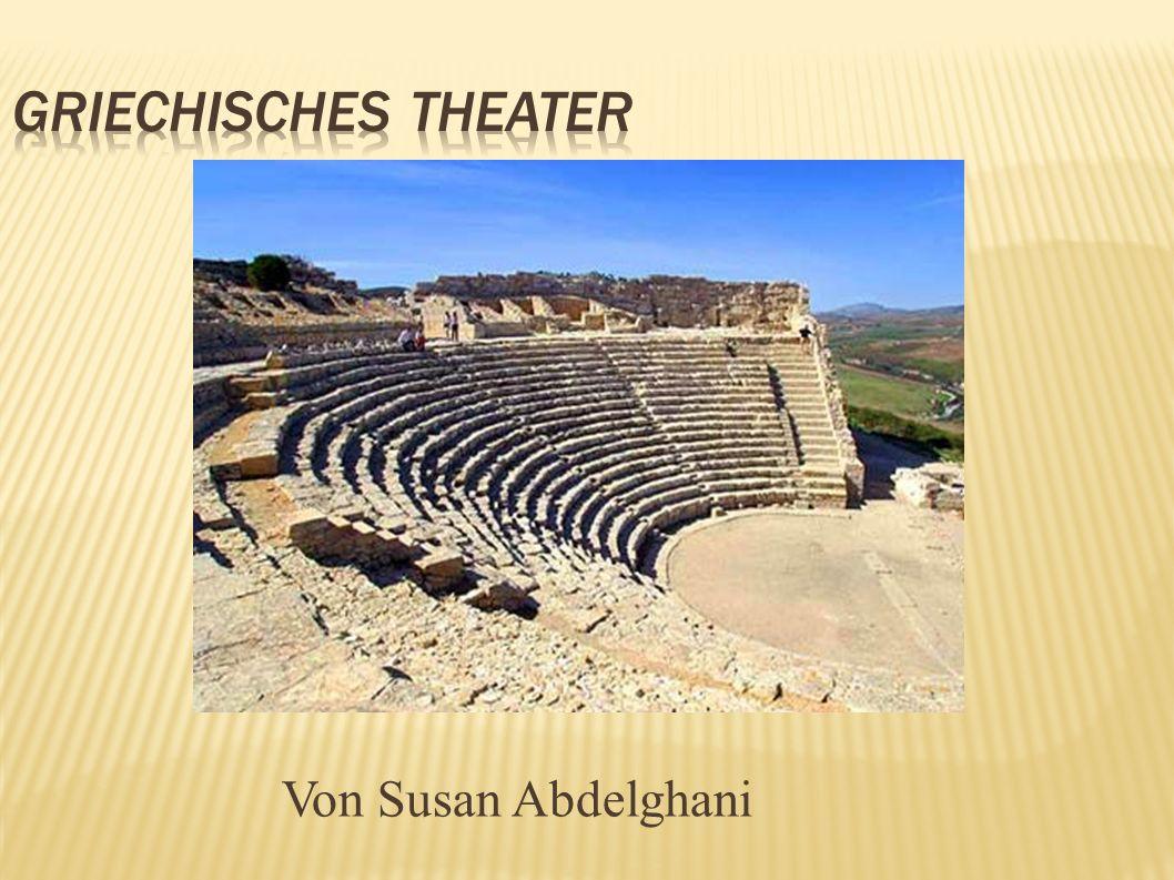 Griechisches Theater Von Susan Abdelghani