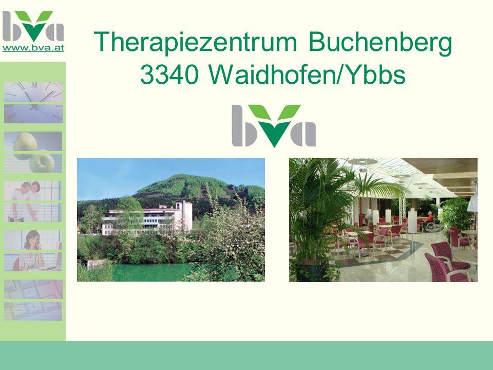 Therapiezentrum Buchenberg 3340 Waidhofen/Ybbs