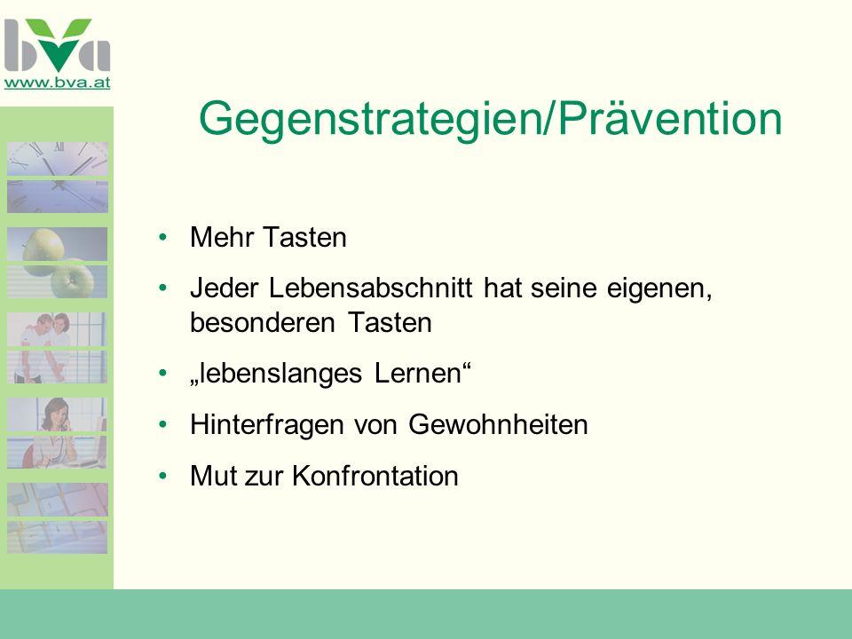 Gegenstrategien/Prävention