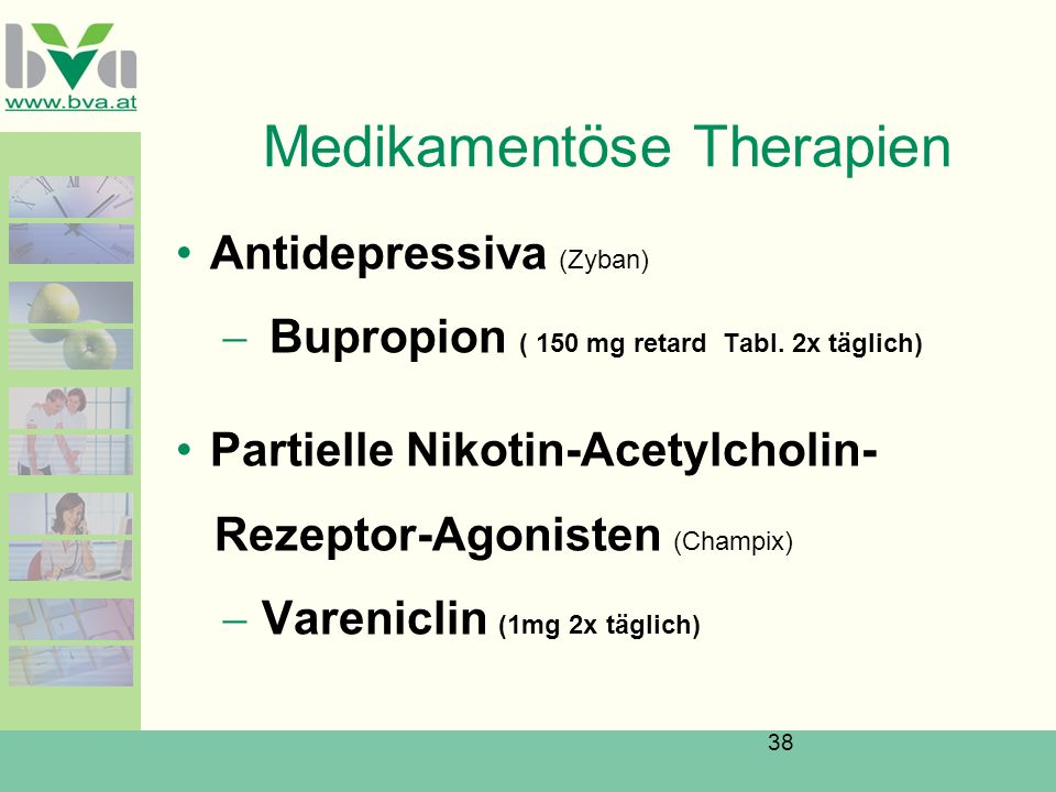Medikamentöse Therapien