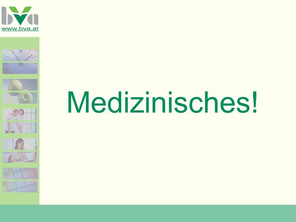 Medizinisches!