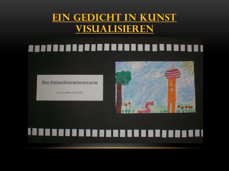 Ein Gedicht in Kunst visuaLisieren