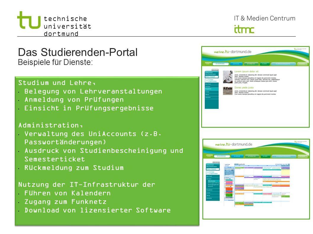 Das Studierenden-Portal