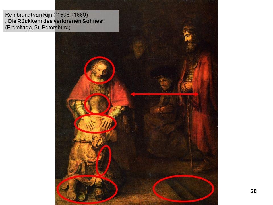Rembrandt van Rijn (*1606 +1669)