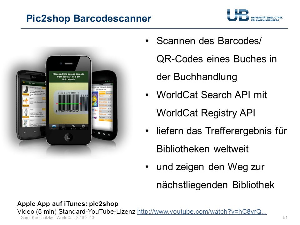 Pic2shop Barcodescanner