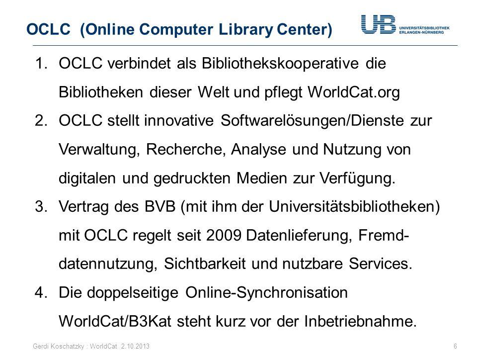 OCLC (Online Computer Library Center)