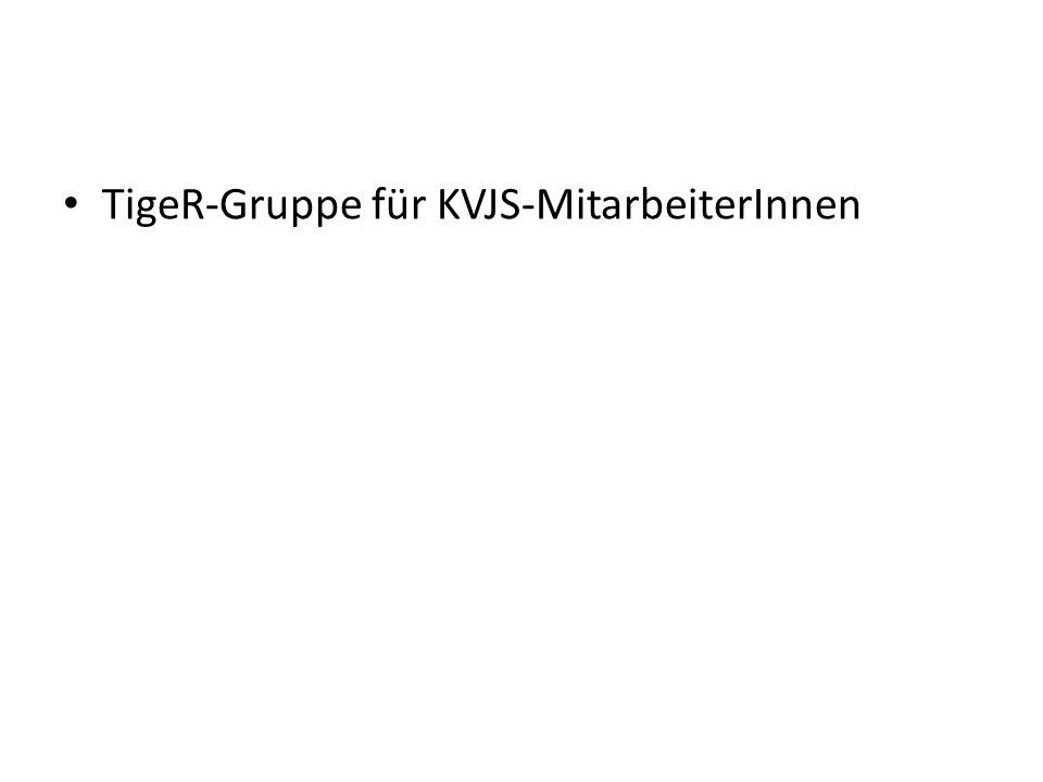 TigeR-Gruppe für KVJS-MitarbeiterInnen